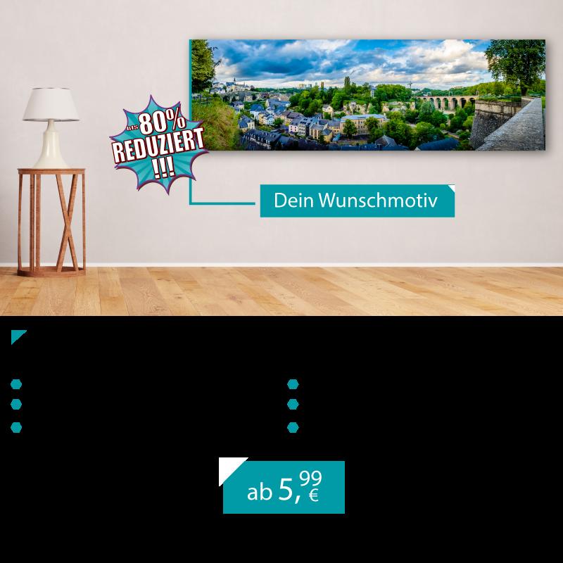 Hochwertige & günstige Leinwände aus Luxemburg. Bis zu 80% reduziert